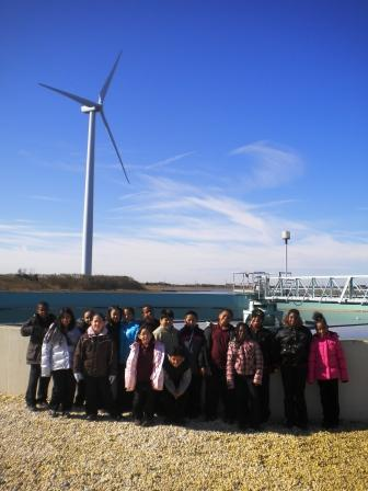 LAS students at the ACUA wastewater treatment plant in Atlantic City