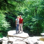 Brie and John at Rickett's Glen!